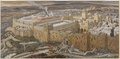 James Tissot – Reconstruction of Jerusalem and the Temple of Herod – Brooklyn Museum
