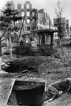 Death and destruction during the Battle of Stalingrad, October 1942