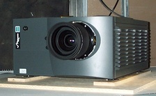 The Christie Mirage 5000, a 2001 DLP projector.