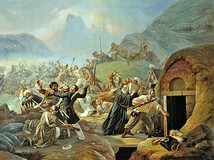 Adyghe strike on a Russian Military Fort in 1840 during the Russian-Circassians War