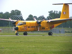 Canadian Forces CC-115 Buffalo fixed wing SAR aircraft from 442 Transport and Rescue Squadron.