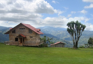 A 'chalet' in the hills to the east of Orosí, Costa Rica