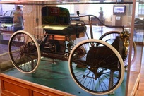 1896 Quadricycle at The Henry Ford Museum in Dearborn, MI