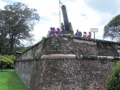 Fort Cornwallis in George Town marks the spot where the British East India Company first landed in Penang in 1786, thus heralding the British colonisation of Malaya.
