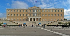 The Old Royal Palace in Athens has hosted the Hellenic Parliament since 1929.