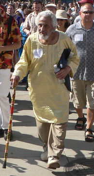 Halim El-Dabh at a Cleveland festival in 2009.