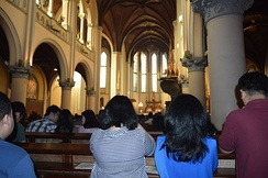 Catholic Mass at the Jakarta Cathedral