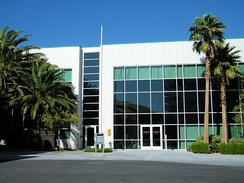 MGM Mirage's Corporate Support Center in Paradise, Nevada