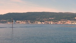 View of Molde from the Molde archipelago.