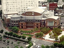 New Jersey Performing Arts Center from Above Summer 2013.jpg
