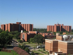 The Walker, Cate, Couch and Adams dorm buildings make up four of the school's residential halls.