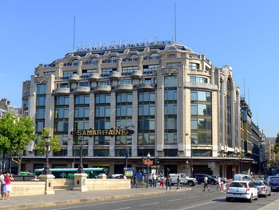 La Samaritaine department store, by Henri Sauvage, Paris, (1925–28)