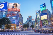 "Shibuya, Tokyo, Japan.[24] About Japan's influence on the genre, William Gibson said, ""modern Japan simply was cyberpunk.""[25]"
