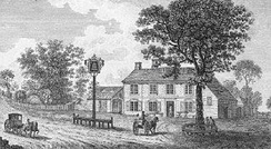 The Bell, c. 1800s (before the 1863 rebuilding)