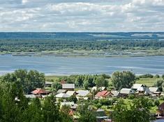 Вид с горы Балчуг на город и Галичское озеро