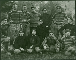 California State Normal School football 1910
