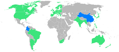 Participants (blue = first-time)