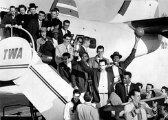 The 1954-55 USF NCAA Championship basketball team