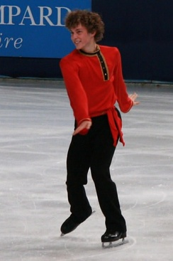 Rippon at the 2011 Trophée Éric Bompard