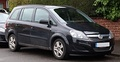 Vauxhall Zafira (With new badge design) (United Kingdom)