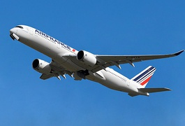 Air France Airbus A350 in the 2019 revised livery