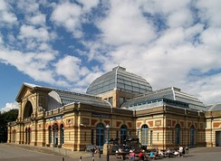 Alexandra Palace in London, venue in 1996.
