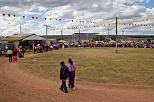 The Annie Wauneka Arena at the Navajo Nation fairgrounds in Window Rock, Arizona is named in honor of Mrs. Wauneka