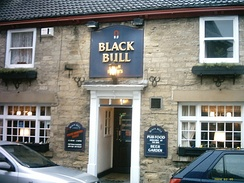Black Bull in 2003, before refurbishment