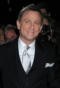Craig at the Quantum of Solace film premiere in New York in November 2008