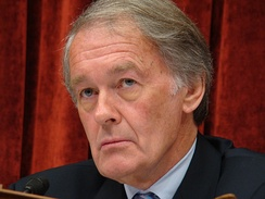 Representative Ed Markey, Democrat of Massachusetts, was chairman of the Select Committee on Energy Independence and Global Warming.  He is pictured here presiding over the committee at a hearing on June 15, 2010.