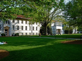 Main Quadrangle on Emory University's Druid Hills Campus