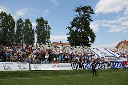 "Ultras ""Forca"" supporting Llamkos Kosova FC"