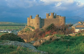 ...and Harlech Castle;