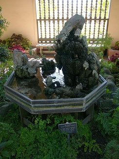 Hòn Non Bộ, at the Botanical Building