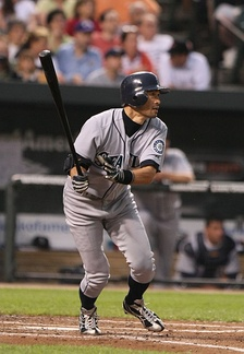 Ichiro is the first player to record 200 hits in 10 consecutive seasons