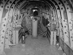Interior view of a Manchester MK I