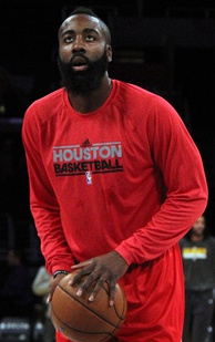 James Harden arrived in Houston in 2012, and has since become a franchise player for the Rockets.