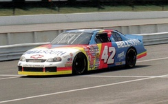 Nemechek's No. 42 BellSouth-sponsored race car in 1997
