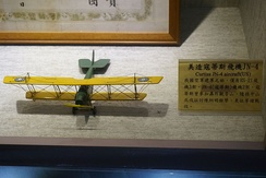 Model of JN-4 used by the Republic of China