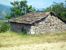 Traditional stone house in Serbia