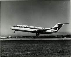The DC-9 entered service with Delta Air Lines on December 8, 1965