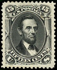 Abraham LincolnIssue of 1866