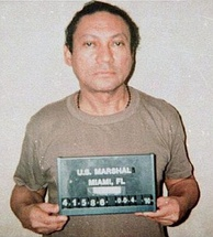 Manuel Noriega, following his arrest by U.S. authorities.