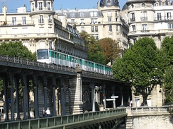 The Paris Métro is the busiest subway network in the European Union.
