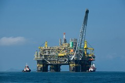 Oil platform P-51, the first 100% Brazilian oil platform