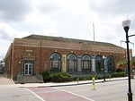 The Old Aurora Post Office, now home to the SciTech Museum.