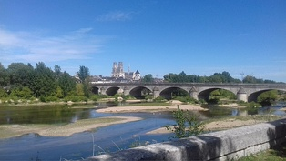 The Loire River in Orléans