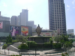 Ortigas Center is regarded as one of the three most important central business districts in Metro Manila, the other two are the Makati CBD and the Bonifacio Global City in Taguig.