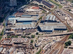 Siemens Gas Turbine Factory, formerly Ruston & Hornsby Pelham Works, Lincoln, England
