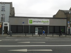 This Pentecostalist centre of worship has incorporated a populist label into its name, the Peoples Church Dublin City